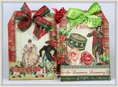Twelve Days of Christmas Tag Box