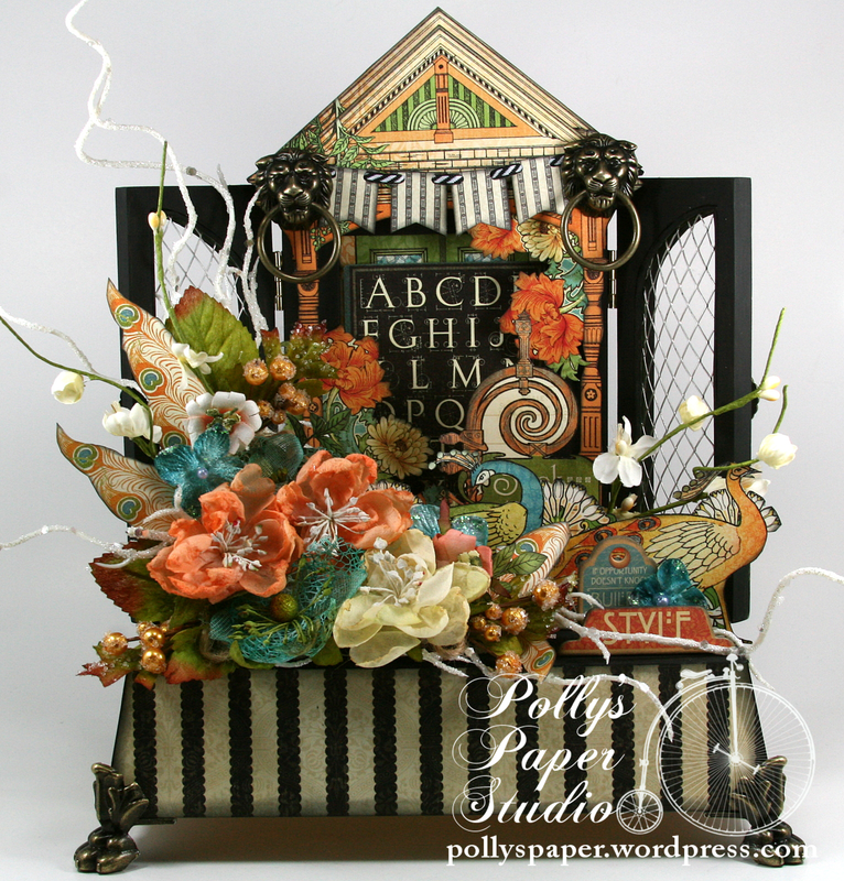 Artisan Style Assemblage with Graphic 45