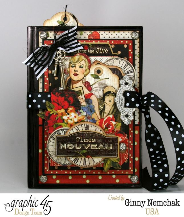 Times Nouveau Journal with Graphic 45