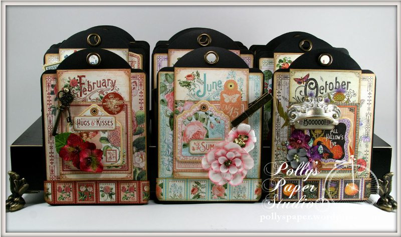 Time To Flourish Perpetual Tag Scrapbook