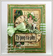 Typography Card GRaphic 45
