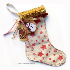 A Hand-Made Christmas Stocking {Susan K. Weckesser Inc.}