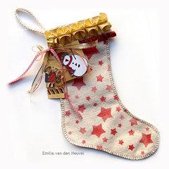 A Hand-Made Christmas Stocking {Susan K. Weckesser Inc.}