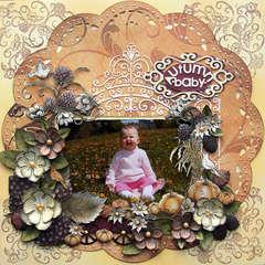 Autumn Baby {DT work for Heartfelt Creations}