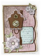 Vintage Floret card {DT work for Heartfelt Creations}