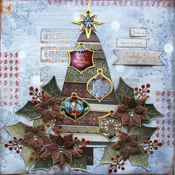 Holiday Season {DT work for Heartfelt Creations}