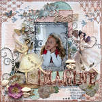 Imagine {DT work for Scrapbook Challenges}