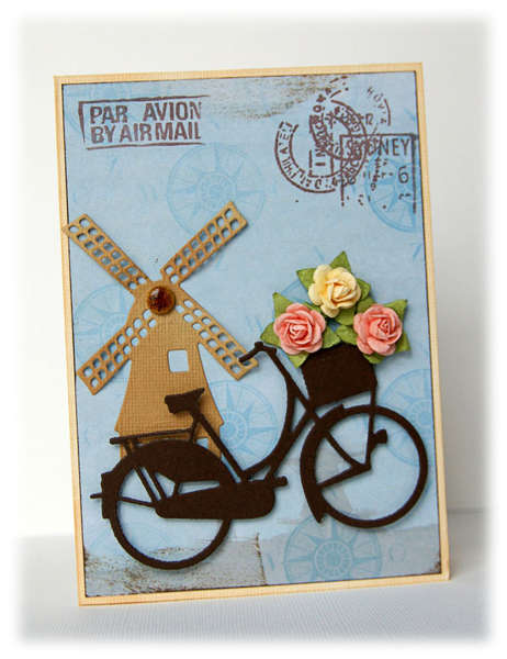 Greeting from Holland {DT work for Kaboodle Doodles}