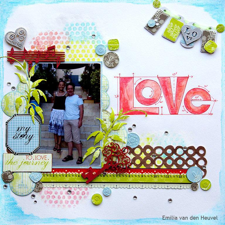 Love {Gelatos Tutorial}