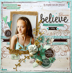 Believe {Merly Impressions & Kaisercraft}