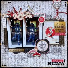 Special Ninja {Kaisercraft & Merly Impressions}