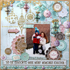 Making Memories {Kaisercraft & Merly Impressions}
