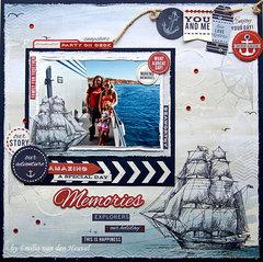 Our Amazing Adventure {Kaisercraft & Merly Impressions}