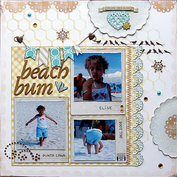 Beach Bum {PaperHaus Magazine DT}