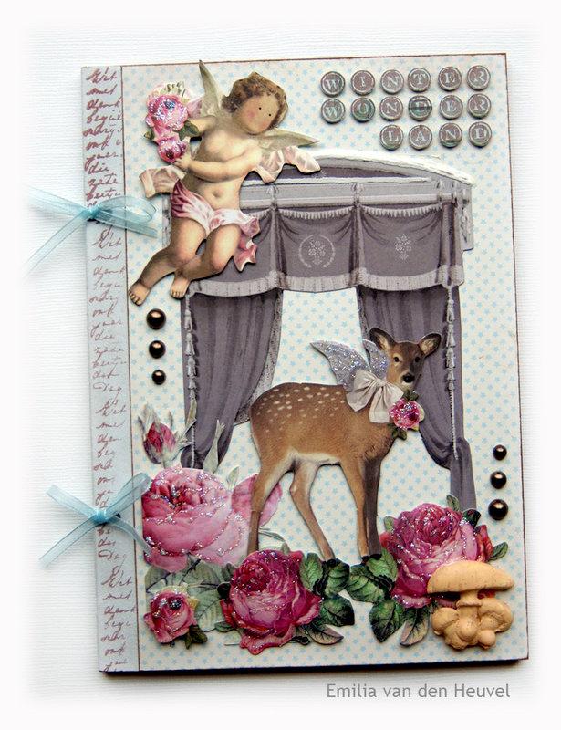 Winter Wonderland mini album - front {DT work for PaperHaus}