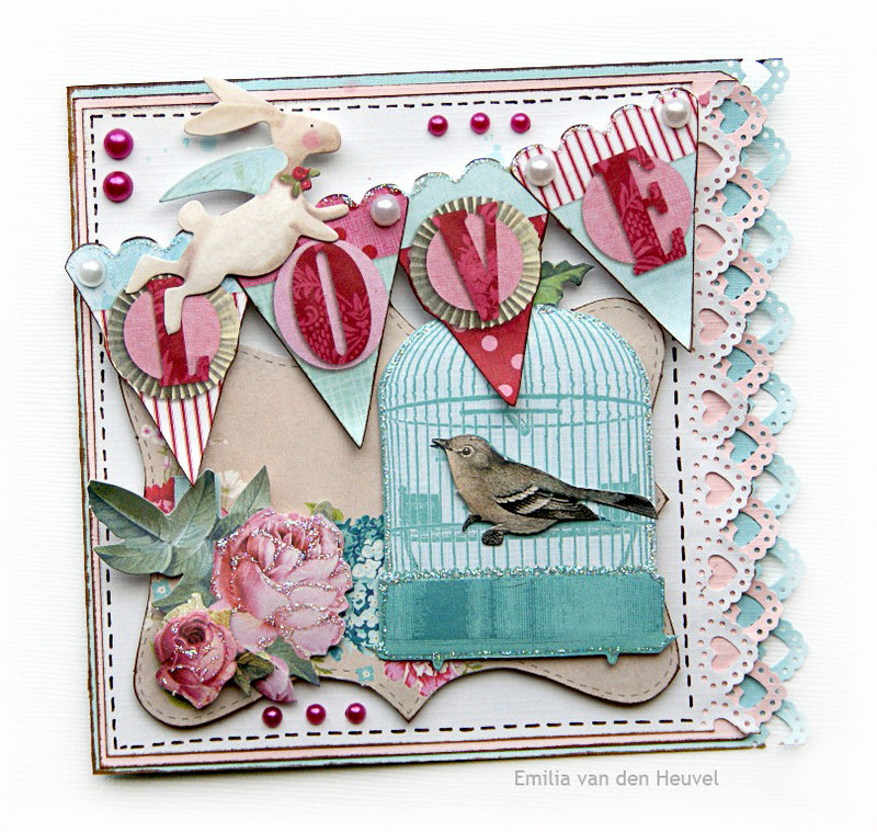 Valentine card {PaperHaus DT}