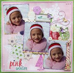 Pink Winter {Webster's Pages}