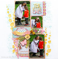 The Little Ones {Scrapbook Challenges}