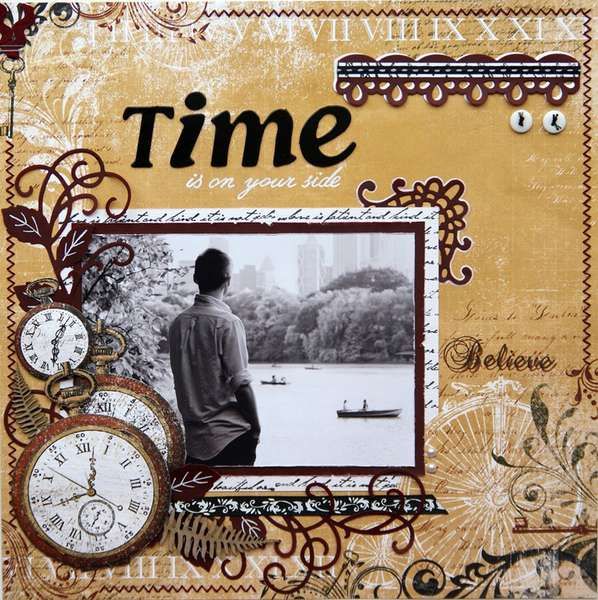 TIME is on your side {DT work for Heartfelt Creations}