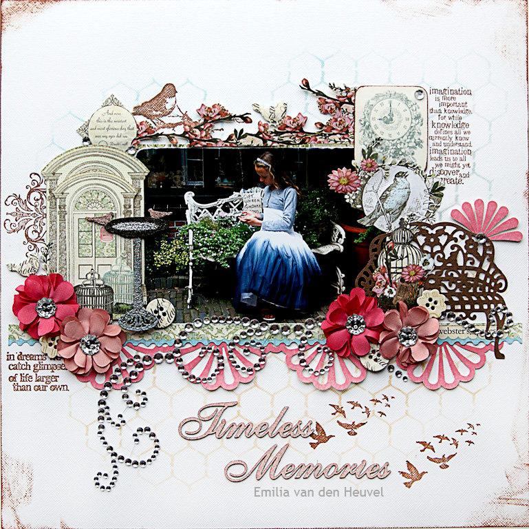 Timeless Memories {FWAB / Scrapmatts}