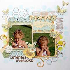 Cuteness Overload {Scrapbook Challenges}