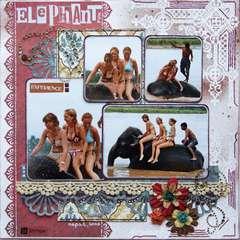 Elephant Fun {Prima BAP May}