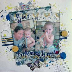 Rylen and Grandma Terri!
