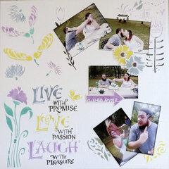Live . . . Love . . . Laugh . . . -50/52
