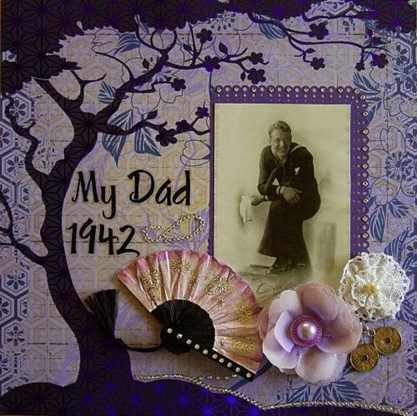 MY DAD 1942 ~Scraps of Darkness~