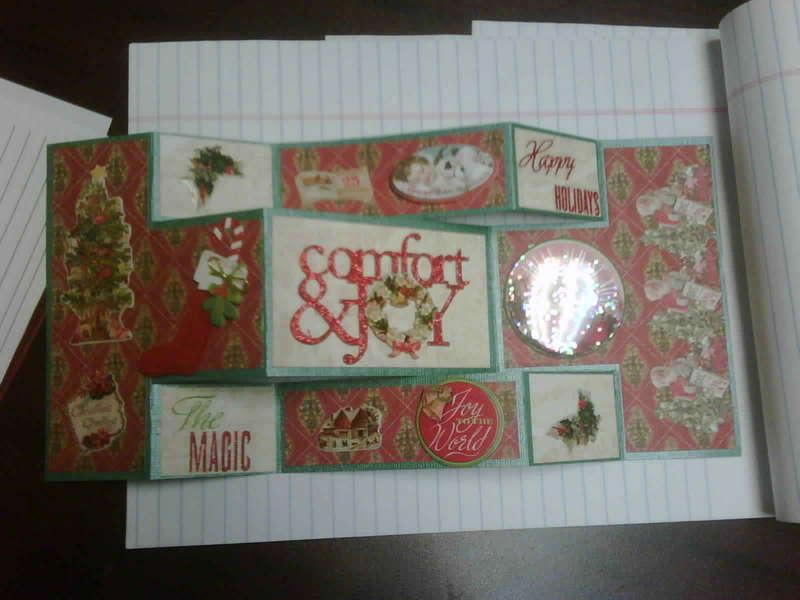 K&Company Yuletide Christmas card