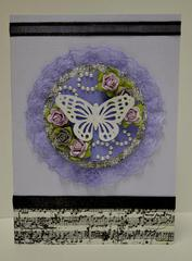 Swirlydoos Kit Club, Ultimate Designer Challenge. Week 1 - Butterfly Card