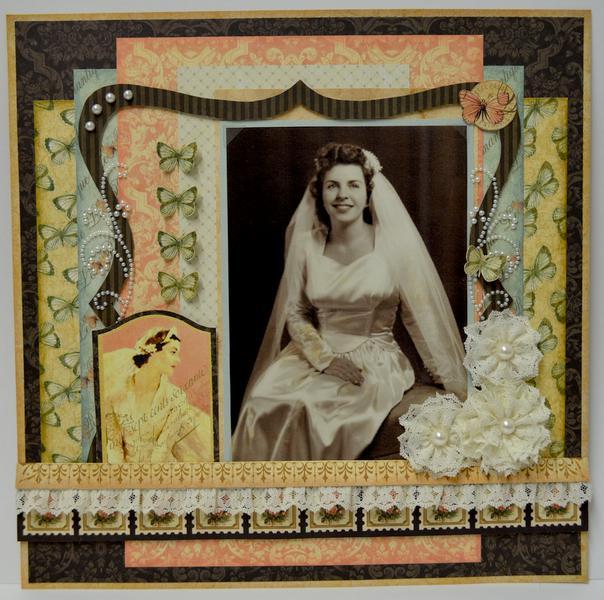 Swirlydoos Kit Club, Ultimate Designer Challenge. Week 2 - Beautiful Bride