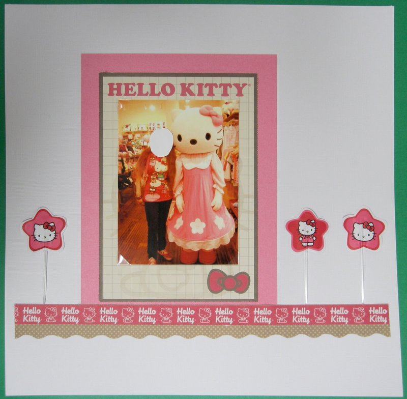 PARTY ON THE PAGE ALL DAY CHALLENGE - Hello Kitty