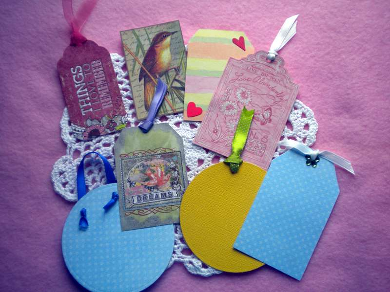 Garden Journal - Tags - Fronts