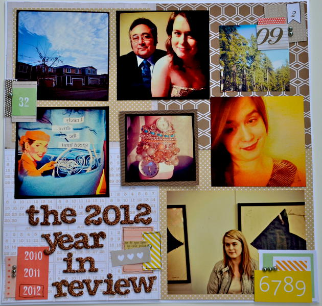 The 2012 year in review
