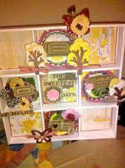 Maya Road Shadow Box Sweetest days of my life