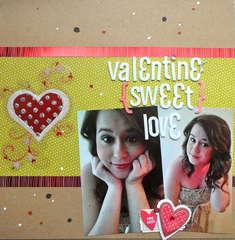 valentine sweet love