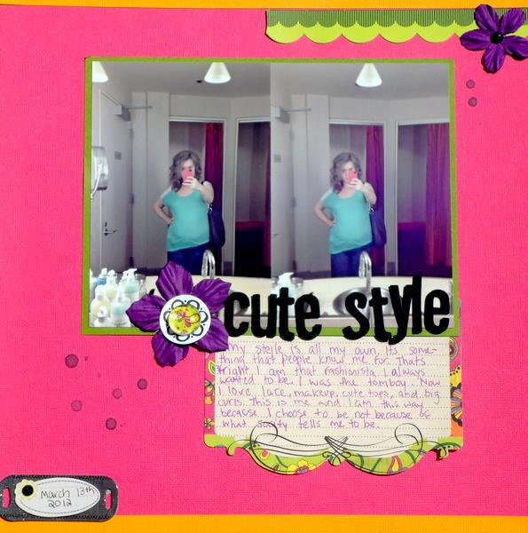Cute Style- CreateU Visual Journaling