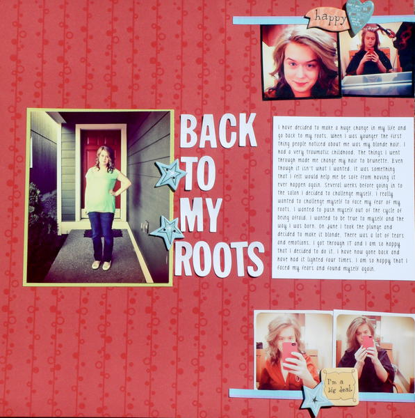 Back to My Roots- CreateU Visual Journaling