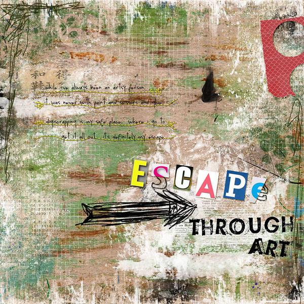 escape through art