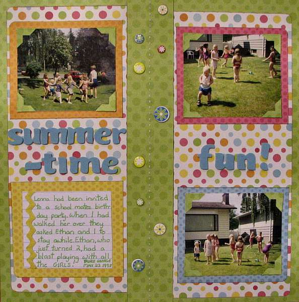 Circle Challenge - Summertime Fun!
