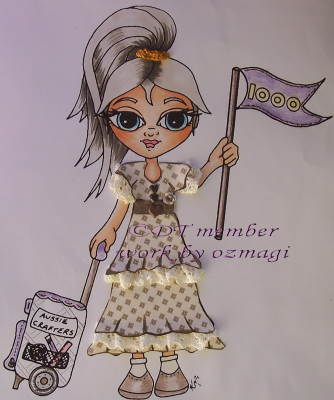 from a digi stamp