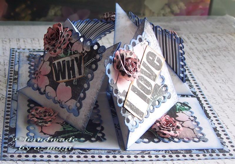 2/3 blue fold card.
