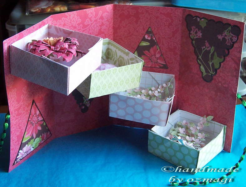 the open box card i made for a friend