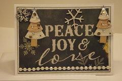 Peace Joy & Love