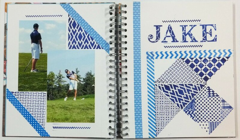Golf Journal Page