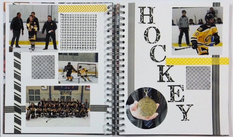 Hockey Journal Page