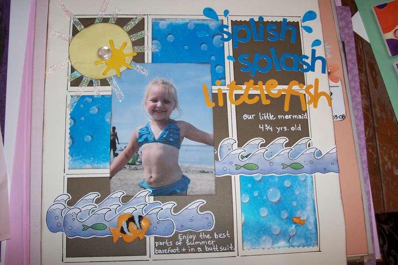 splish splash little fish