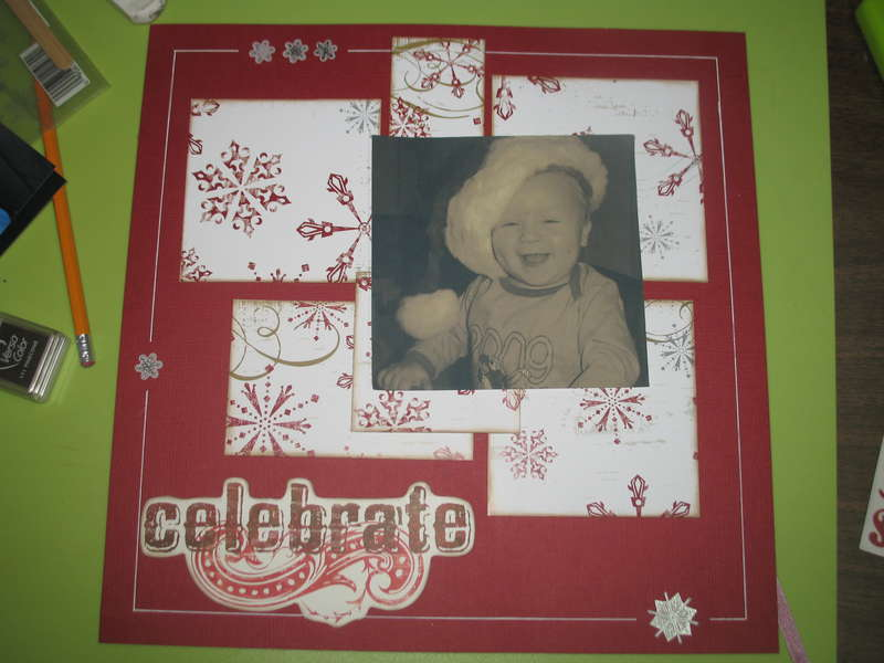 celebrate- first Christmas