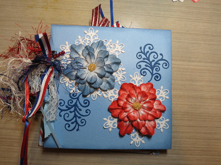 Red, White & Blue Theme Mini Album